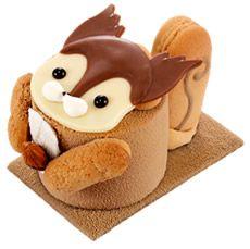 squirrel cake  Kawaii food