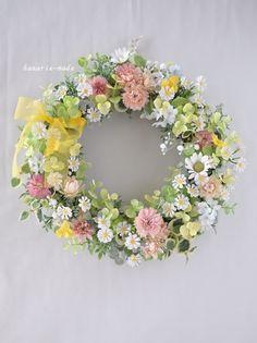 little flowers wreath:春の小花