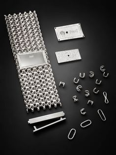 Watch components before final assembling