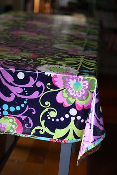 Sewing with Laminated Cotton by pink chalk studio