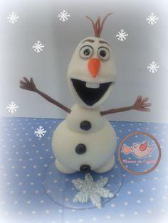 Olaf  Porcelana fria / Cold porcelain