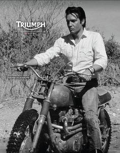 Elvis riding