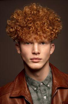 David Arnal | Photographer Cool Haircuts, Haircuts For Men, Curly Hair Men, Curly Hair Styles, Hair Art, Men's Hair, Mens Perm, Toni And Guy, Mens Hair Trends