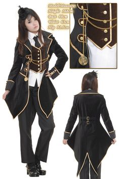 Awesome victorian jacket.