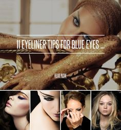 11 Eyeliner Tips for Blue Eyes ... - Makeup [ more at http://makeup.allwomenstalk.com ] Eyeliner tips for blue eyes will help you enhance and show off one of your best features. Eyeliner can be a subtle or dramatic way to draw attention to your eyes, but it will always make your eye color stand out even more. Blue eyes are gorgeous on their own, but these eyeliner tips will make them stand out even more.... #Makeup #Eyeshadow #Look #Show #Water #Shade