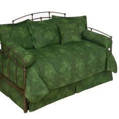 Karin Maki Caribbean Coolers Tie Dye Rainforest Green #Daybed #Comforter Set #DelectablyYours
