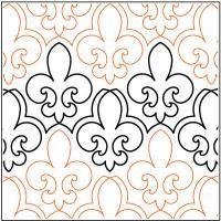 Wave on Wave - 8 U7-PR-WOW, love this pano. source: Quilts ... : fleur de lis quilt pattern - Adamdwight.com