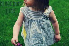 Black Bird...(tunic) - Free pattern and step by step Photo tutorial - Bildanleitung und gratis Schnittvorlage