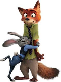 Nick Wilde and Judy Hopps Disney Pixar, Arte Disney, Disney Marvel, Disney And Dreamworks, Disney Cartoons, Disney Animation, Disney Art, Zootopia Anime, Zootopia Characters