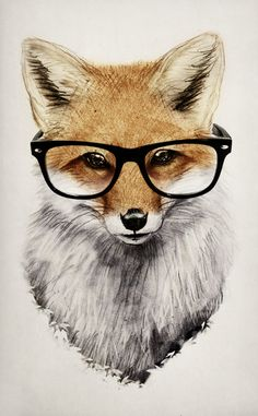 Mr. Fox Art Print by Isaiah K. Stephens