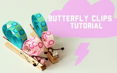 How To - Butterfly Paper Clips