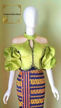 Unique Ankara Styles, African Lace Styles, African Lace Dresses, African Attire, African Wear, Myanmar Dress Design, Mode Kimono, Lace Dress Styles, Latest African Fashion Dresses