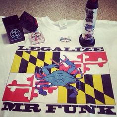 Check out @funkyfunkmd420 rockin' his @Poke A Bowl® Clean Your Ash Hole® - Ashtray Travel Box™ ZEd!  www.PokeABowl.com - Clean Your Ash Hole®