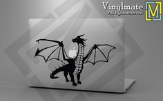 Dragon - mythical being Macbook or laptop decal / sticker