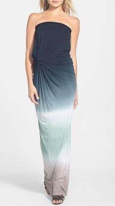 Could seriously live in this ombre maxi dress during summer.