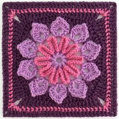 crochet granny square pattern - Google Search