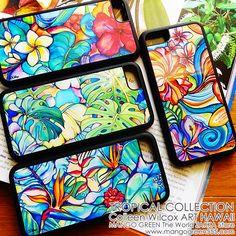 HAWAIIAN TROPICAL iPhone Case!ハワイ育ちが描いたトロピカルフラワーのiPhoneケース!#iphonecase #iphoneケース #hawaii #ハワイ #tropical #トロピカル #flower #花 #雑貨
