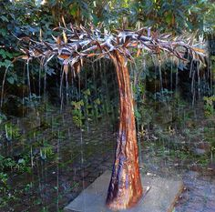 tree water feature - Google Search
