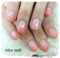 浜松市 中区 自宅ネイルサロン nico nail ニコネイル:大人キラキラネイル