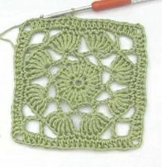 "Here you can find great video granny tutorials from Nadelspiel Granny ""Love"" . : Here you can find great video granny tutorials Granny ""Love"" Granny ""Irish Rose"" Granny ""Daisy"" Granny ""Window … Crochet Blocks, Granny Square Crochet Pattern, Crochet Stitches Patterns, Crochet Squares, Crochet Granny, Crochet Motif, Crochet Shawl, Crochet Designs, Crochet Doilies"