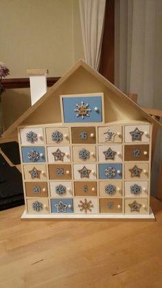 Christmas Advent Calendar. House from Hobbycraft.