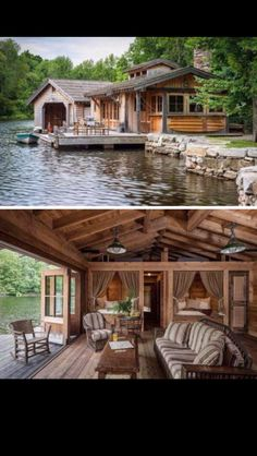 Lake front house