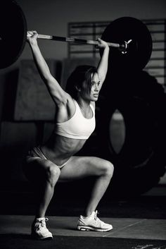 Don't be afraid of lifting heavy weights ladies... I am telling you it will only make you stronger and more toned.
