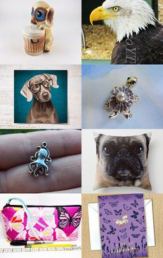 Animals by Raystlynne Bennett on Etsy--Pinned with TreasuryPin.com