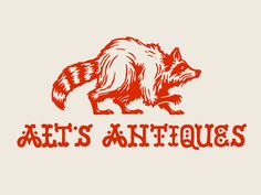 Dribbble - Alt's Antiques by Brett Stenson