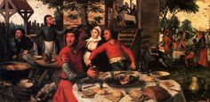 Aersten Pieter Peasant s Feast. Голландские художники