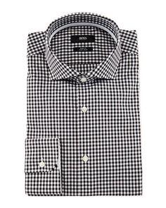 20417b0981d Boss Hugo Boss Jery Slim-Fit Gingham Dress Shirt