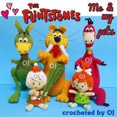 #crocheteddoll #crochetaddict #designedbyoj #amigurumiaddict #amigurumi #crocheting #crochetoftheday #haken #haekeln #Flintstone #betty #bettyrubble #Barney #barneyrubble #bammbamm #pebbles #Wilma #wilmaflintstone #fred #fredflintstone #dino #hoppy
