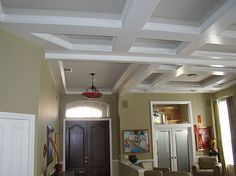 Nice coffered size, but too many shapes and sizes.