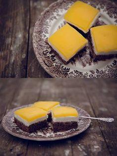 Kalóriaszegény, diétás Fanta szelet (szénhidrátszegény, gluténmentes, tejmentes, cukormentes, light paleo)