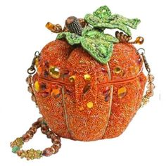 Mary Frances After Midnight Pumpkin Orange Beaded Bag Harvest Purse New Halloween Unique Handbags, Unique Purses, Purses And Handbags, Unique Bags, Mary Frances Purses, Mary Frances Handbags, Beaded Purses, Beaded Bags, Fall Bags