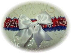 Handmade  Wedding Garter Texas Rangers Toss RW by GartersByKristi, $21.99