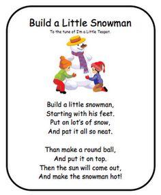 1000 images about snowman poems on pinterest snowman soup poem