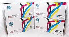 TTP Brand Premium Set of 4 Colors Value Pack New Compatible Toner for Hewlett Packard CE340A, CE341A, CE342A, CE343A, HP 651A, for Color LJ M775dn, M775f, MFP M775dn, Enterprise700 MFP M775F, M775Z