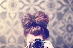 How cute is her hair??