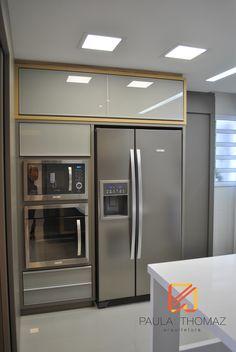 Projeto Arquiteta Paula Thomaz | Cozinha aconchegante e bem planejada.