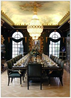 21 Best Grand Dining Rooms Images Room