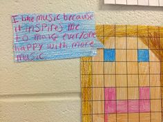 Music Crafts Your Mind - great Minecraft bulletin board and writing activity for MIOSM