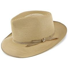 1a850eb92bad8 Lowest Price on Stratoliner - Stetson Milan Straw Fedora Hat - TSSTROB.  Straw Fedora