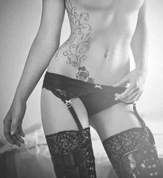 I want her tattoo body and lingerie.... jealous much?