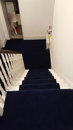 Best Plain Navy Blue Stair Runner Hallway Pinterest 400 x 300