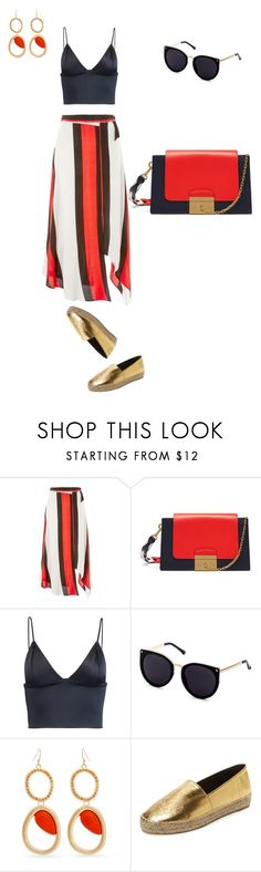 """Untitled #227"" by mary-en ❤ liked on Polyvore featuring Topshop, Mulberry, T By Alexander Wang, Curvy Chic, Kenzo and hotsummer"