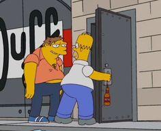 Barney and Homer