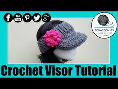 The Curtis Visor Crochet Tutorial - YouTube