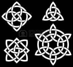 Buy Celtic Knots Collection by polosatik on GraphicRiver. Celtic Knots Collection Isolated on Black Background Celtic Symbols, Celtic Art, Celtic Knots, Mayan Symbols, Celtic Dragon, Egyptian Symbols, Ancient Symbols, Logo Pattern, Celtic Circle