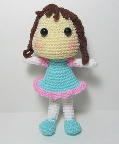 Amigurumi Doll Crochet Doll by Starfall on Etsy
